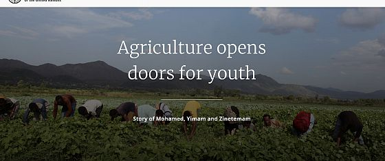 Agriculture opens doors for youth - June links selection